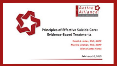 Principles of Effective Suicide Care