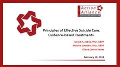 Principles of Effective Suicide Care
